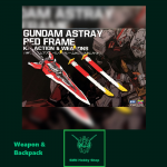 RG 1/144 Astray Red Frame Tactical Arms II L & Katana Sword [BTF] (Gundam Addon)
