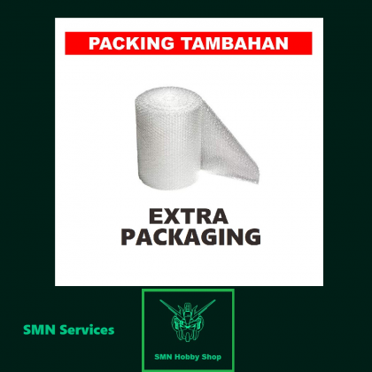 Extra/Additional Protection Bubble-Wrap & Hard Cardboard Box Packaging Add-ons Service (SMN Hobby Shop)