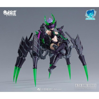 ATKGIRL 1/12 Arachne Spider Girl Model Kit ver Renewed (E-Model)