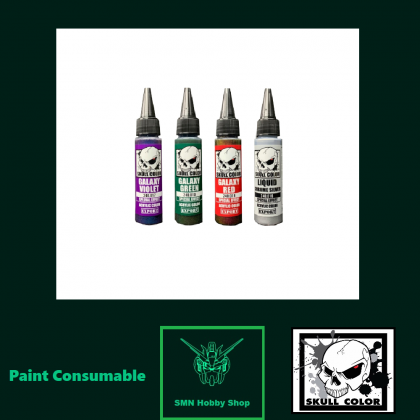 35ml Acrylic Paint Special Series Colour [Galaxy/Chrome] (Skull Color Paint)