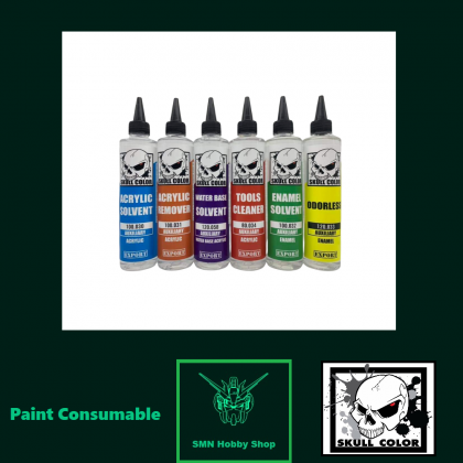 250ml Acrylic Paint Thinner/Solvent Series Colour (Skull Color Paint)