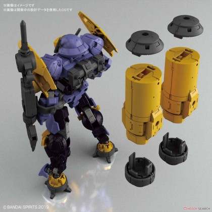30MM 1/144 bEXM-15 Portanova Marine/Diver Type [Purple] (Bandai)