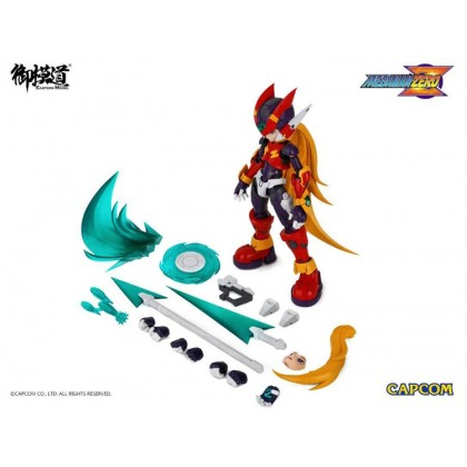 CMK 1/12 Mega Man Zero ver.GBA Model Kit [Rockman Zero - CAPCOM] (Eastern Model)