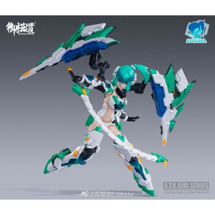 FAG 1/12 ATKGIRL XuanWu Armor Girl Model Kit (Eastern Model/E-Model)