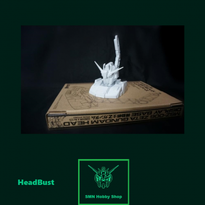 HB 1/48 MSZ-006 Zeta Gundam Head 1/144 Display Base (Daban)