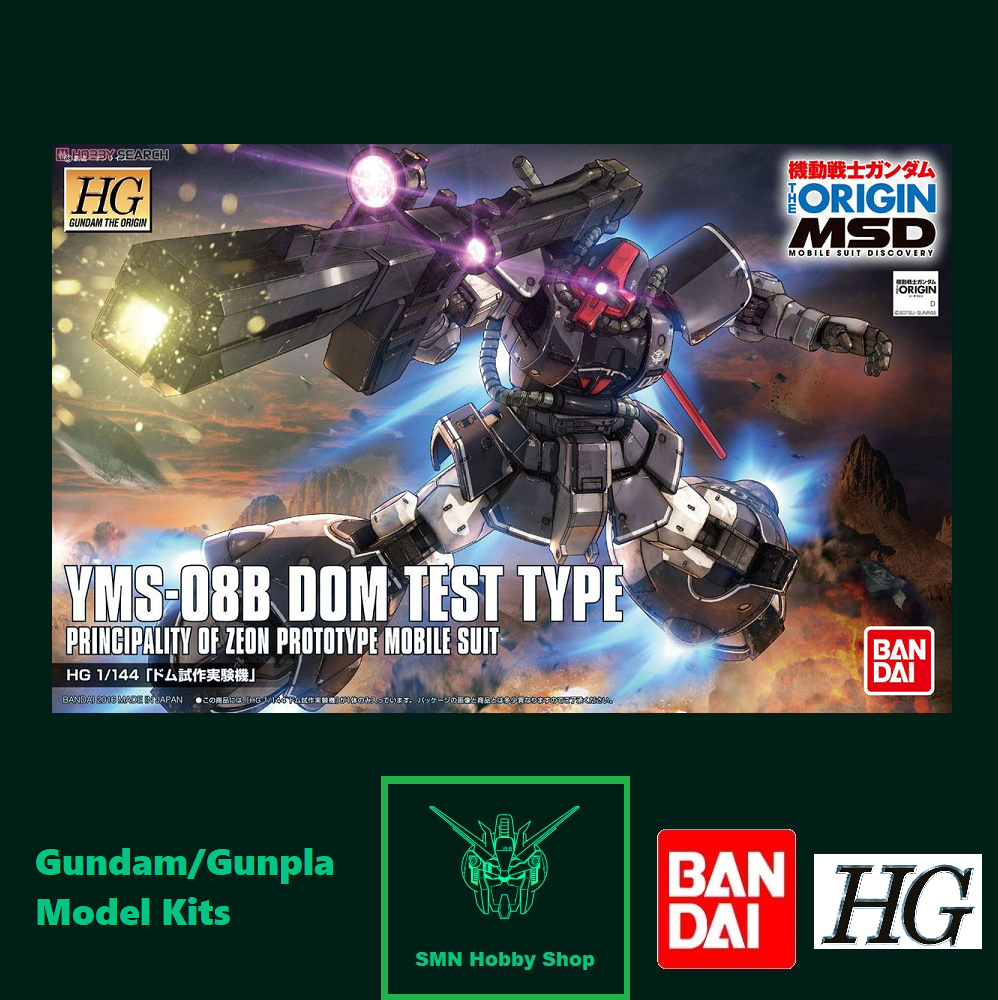 from JAPAN NEW GUNDAM The Origin Bandai  HG 1//144 Model Kit Dom Prototype