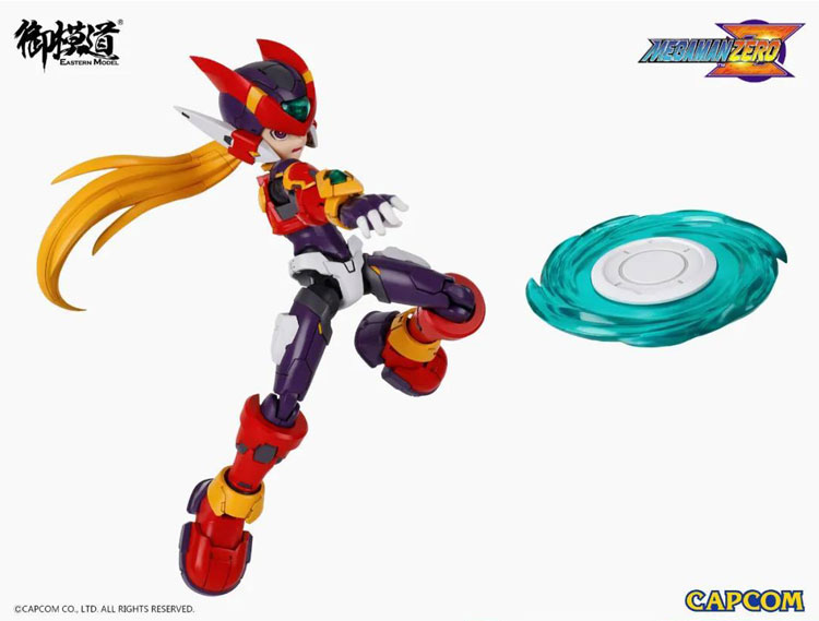 Model Kit 1/12 Mega Man Zero ver.GBA [Rockman Zero - CAPCOM] (Eastern Model)